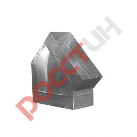 Отвод короб 45° (сапог)