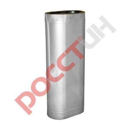 Труба эллипс двухконтурная L300/500/700/1000